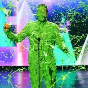 Chris Pratt onstage at Nickelodeon's 2019 Kids' Choice Awards at Galen Center on March 23, 2019 in Los Angeles, California.