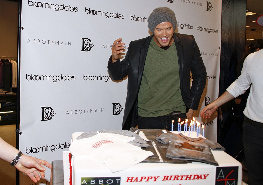 Kellan Lutz Launches Dylan George and Abbot + Main Spring '12 Collections At Bloomingdale's
