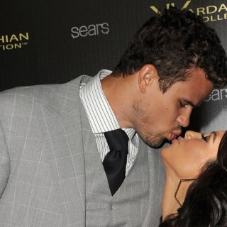 Kris Humphries and Kim Kardashian Kardashian Kollection Launch Party