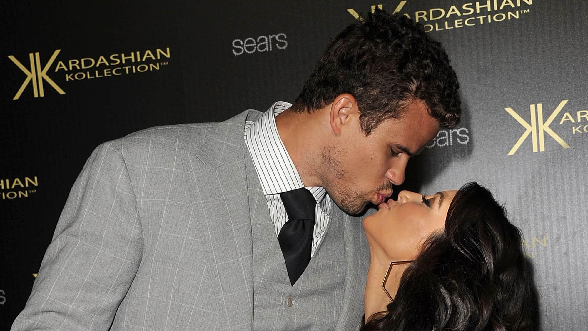 Kris Humphries and Kim Kardashian Kardashian Kollection Launch Party