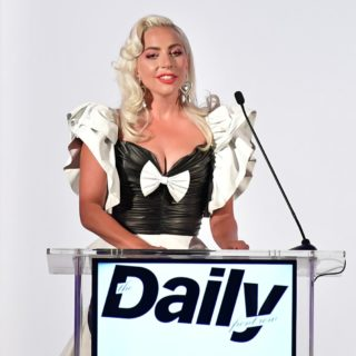 Lady Gaga The Daily Front Row Fashion LA Awards 2019 - Inside
