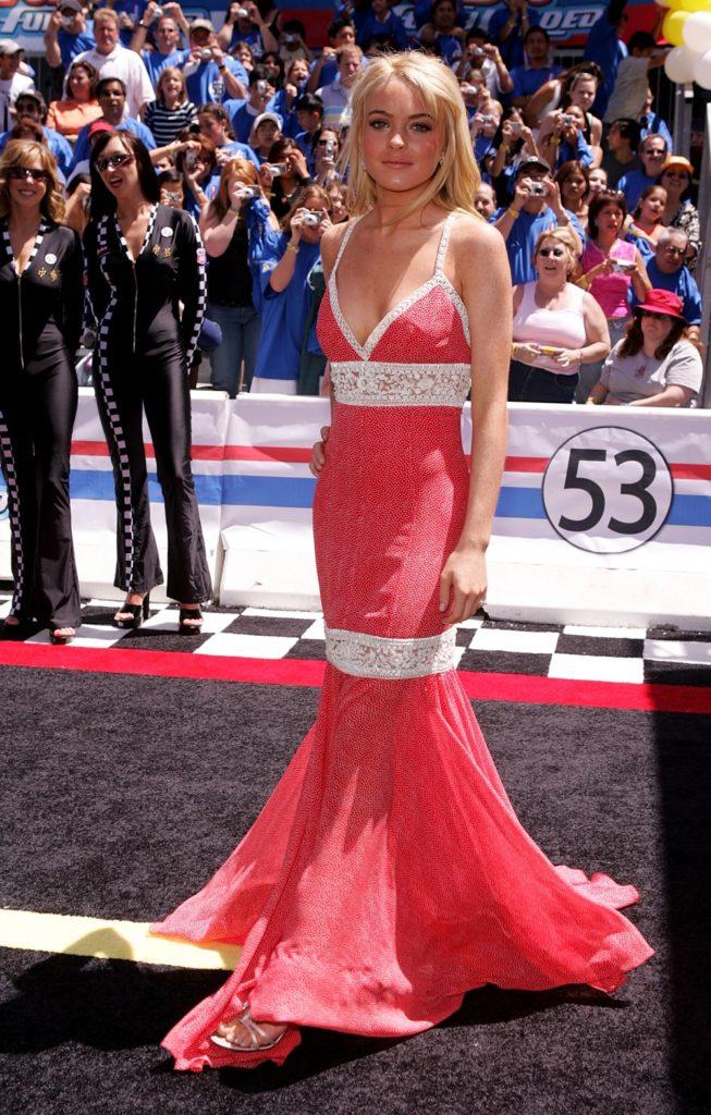 "Lindsay Lohan Premiere Of Disney's ""Herbie: Fully Loaded"" - Arrivals"