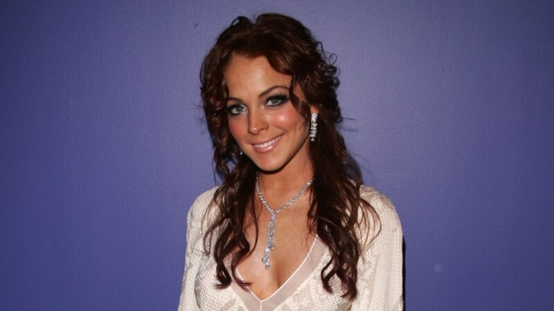 Lindsay Lohan MTV's Iced Out New Years Eve 2005