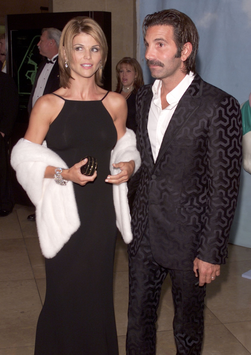 Lori Loughlin and her husband Mossimo Carousel of Hope 2000