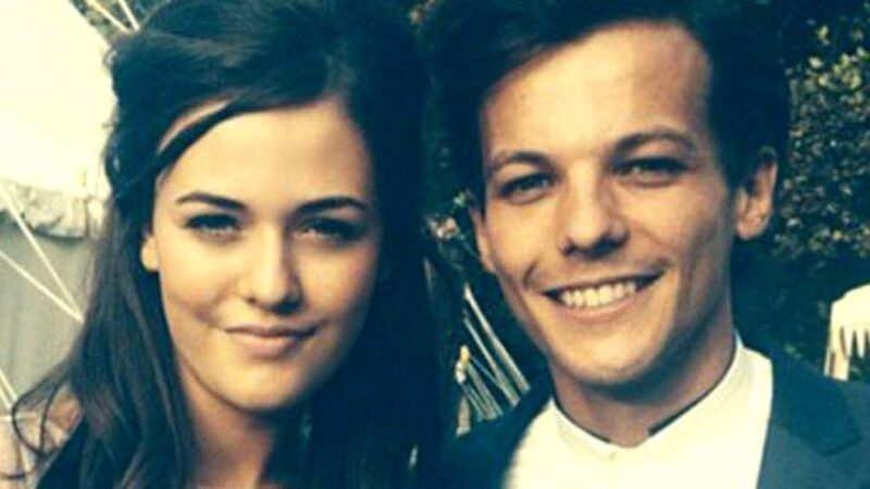 Louis Tomlinson and Félicité Tomlinson