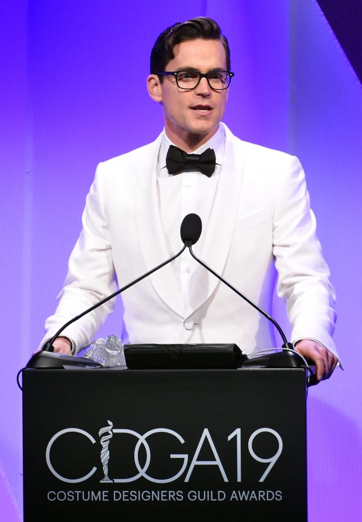 Matt Bomer 19th CDGA (Costume Designers Guild Awards) - Show And Audience