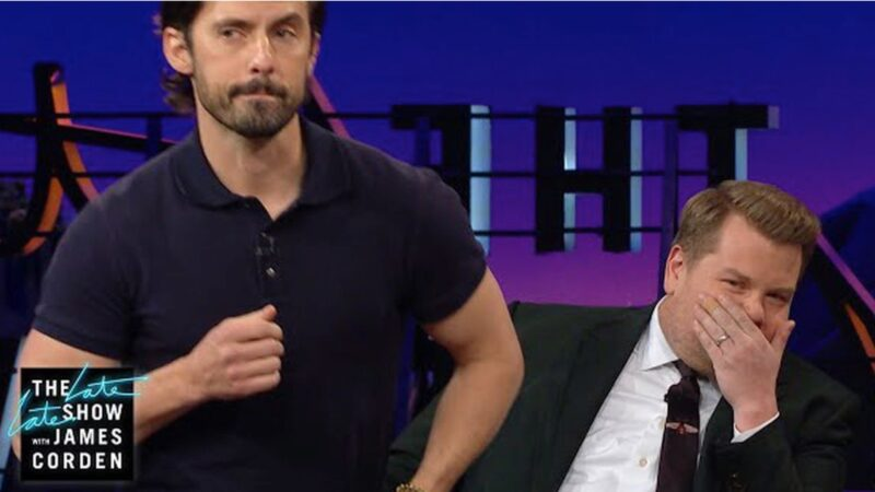 Milo Ventimiglia Gave James Corden a Lap Dance