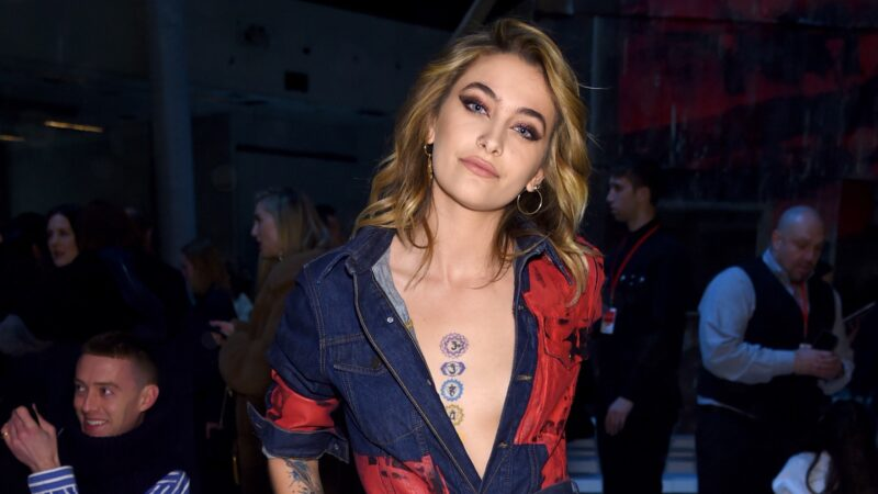 Paris Jackson Calvin Klein Collection - Front Row - February 2018 - New York Fashion Week
