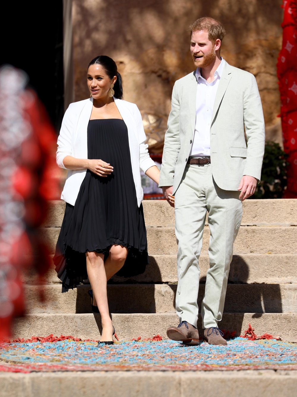 Prince Harry and Meghan Markle The Duke And Duchess Of Sussex Visit Morocco