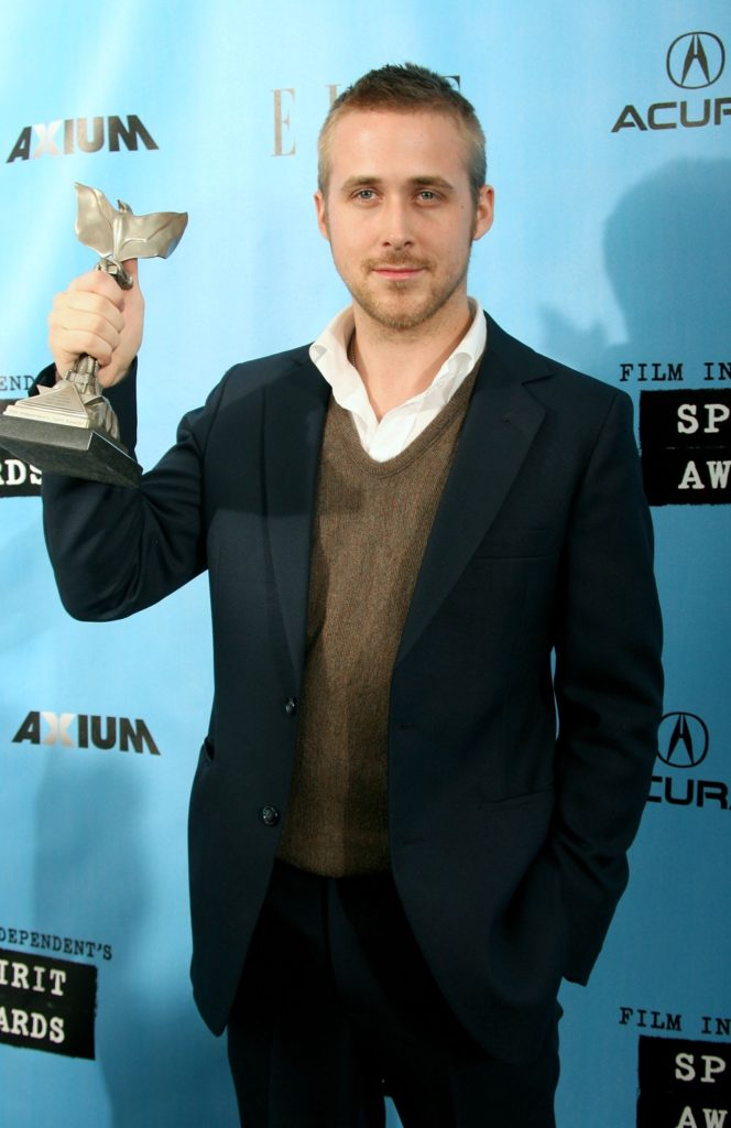 Ryan Gosling Film Independent's 2007 Spirit Awards - Press Room