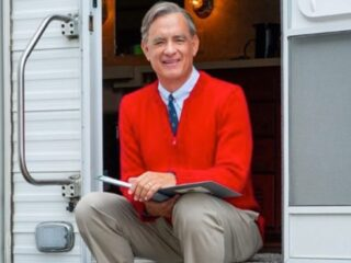Tom Hanks as Mister Rogers in A Beautiful Day in the Neighborhood