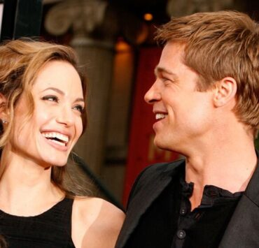 "Angelina Jolie and Brad Pitt Warner Bros. Premiere of ""Ocean's 13"" - Arrivals"