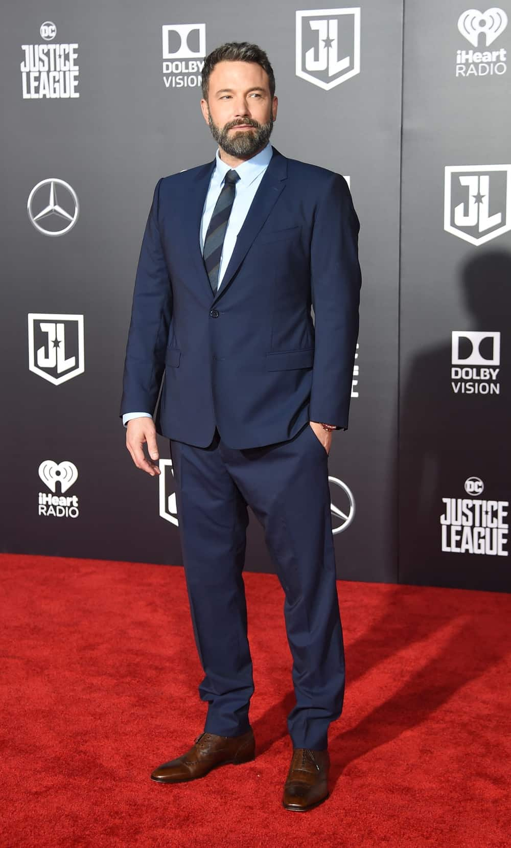 Ben Affleck ENTERTAINMENT-US-FILM-JUSTICE LEAGUE