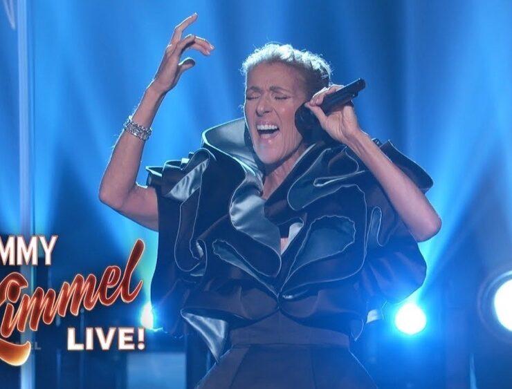Celine Dion on Jimmy Kimmel Live
