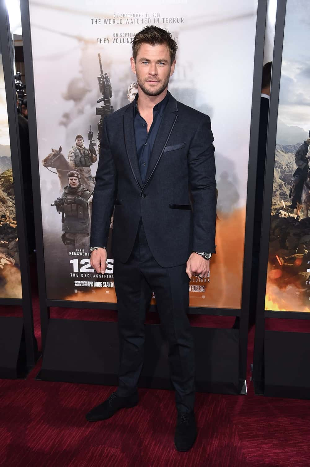 "Chris Hemsworth ""12 Strong"" World Premiere"
