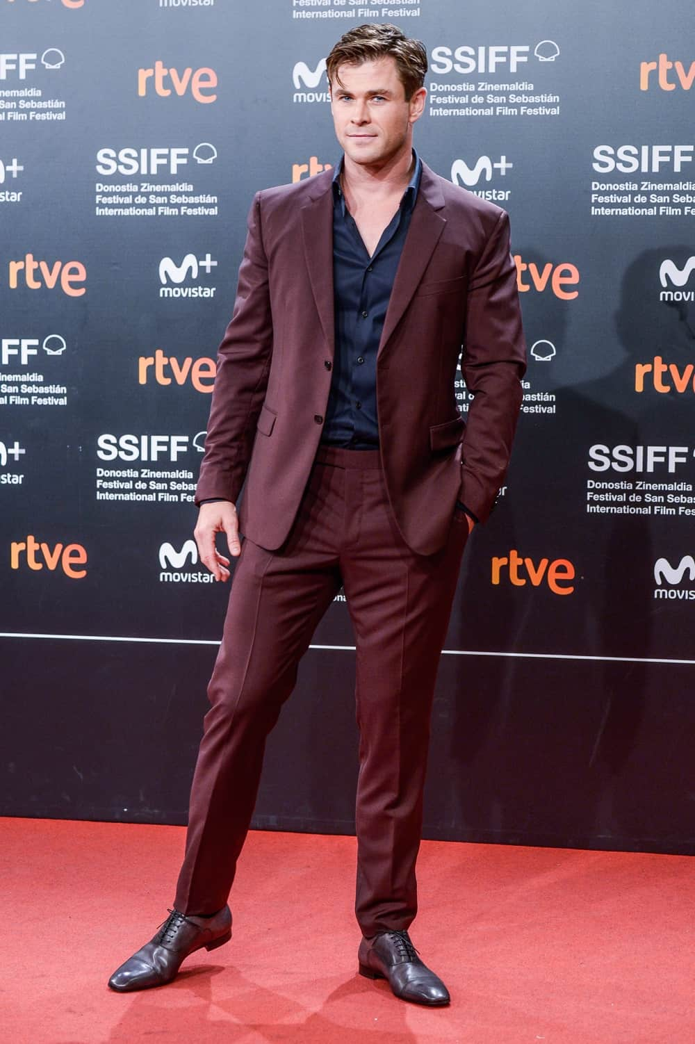 Chris Hemsworth Red Carpet - Closure Gala - 66th San Sebastian Film Festival