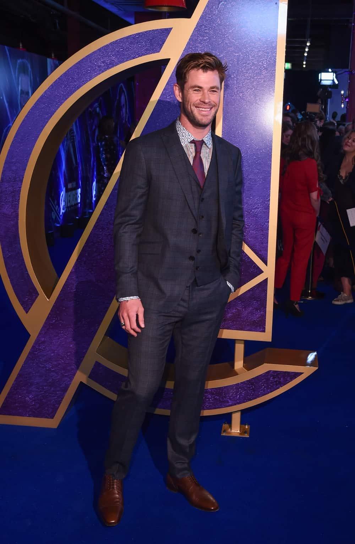 """Chris Hemsworth Marvel Studios' """"Avengers: Endgame"""" UK Fan Event"""