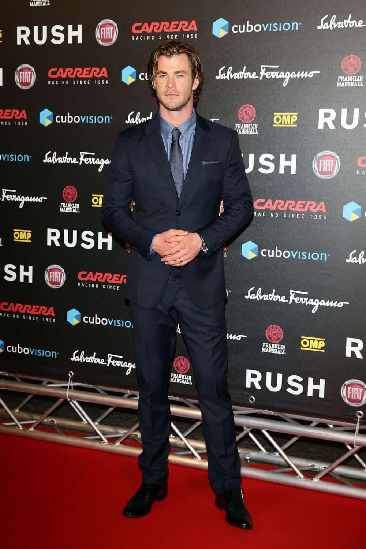 "Chris Hemsworth ""Rush"" The Movie Rome Premiere"