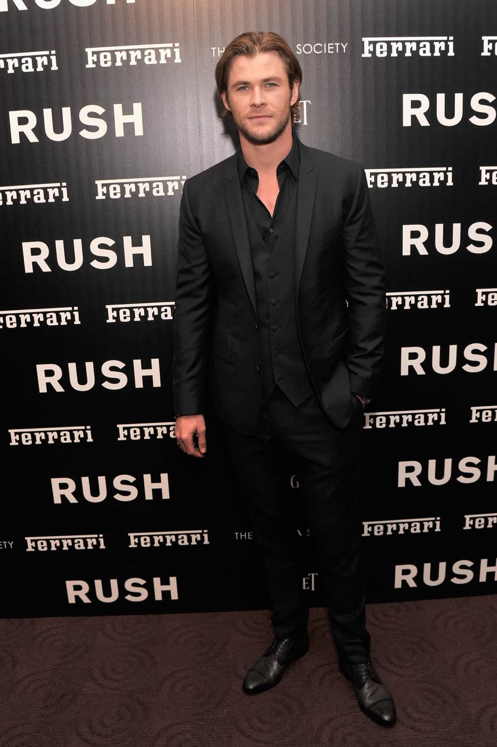 "Chris Hemsworth Ferrari And The Cinema Society Host A Screening Of ""Rush"" - Arrivals"