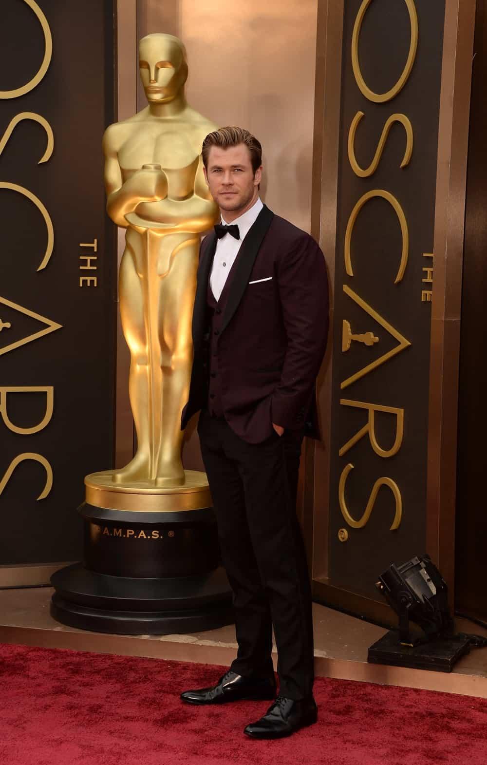 Chris Hemsworth 86th Annual Academy Awards - Arrivals