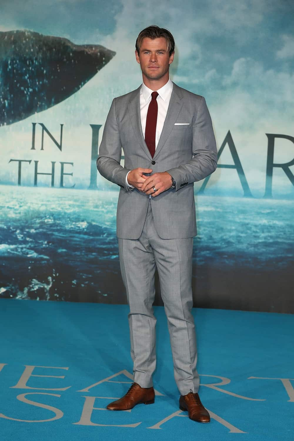 "Chris Hemsworth ""In The Heart Of The Sea"" - UK Film Premiere Red Carpet Arrivals"
