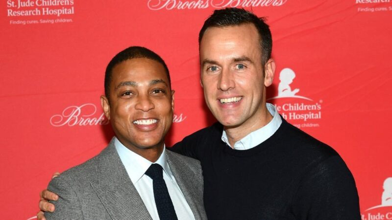 Don Lemon and Tim Malone Brooks Brothers And St Jude Children's Research Hospital Annual Holiday Celebration In New York City