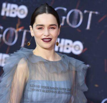Emilia Clarke US-ENTERTAINMENT-TELEVISION-HBO