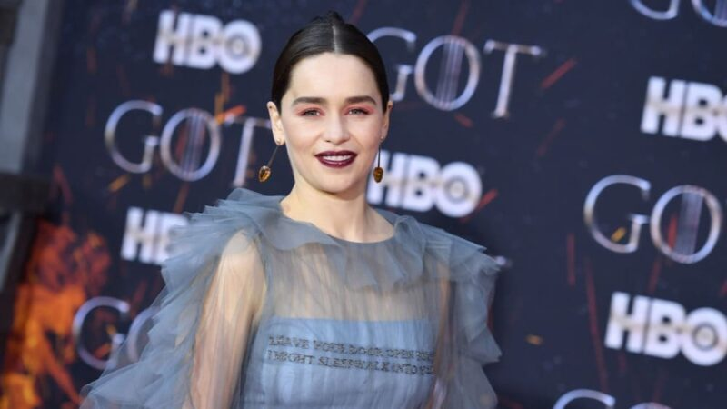 Emilia Clarke US-ENTERTAINMENT-TELEVISION-HBO