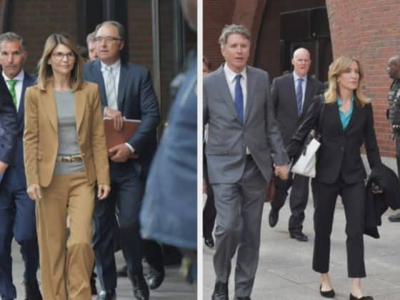 Felicity Huffman and Lori Loughlin Appear in Court for College Admissions Scandal