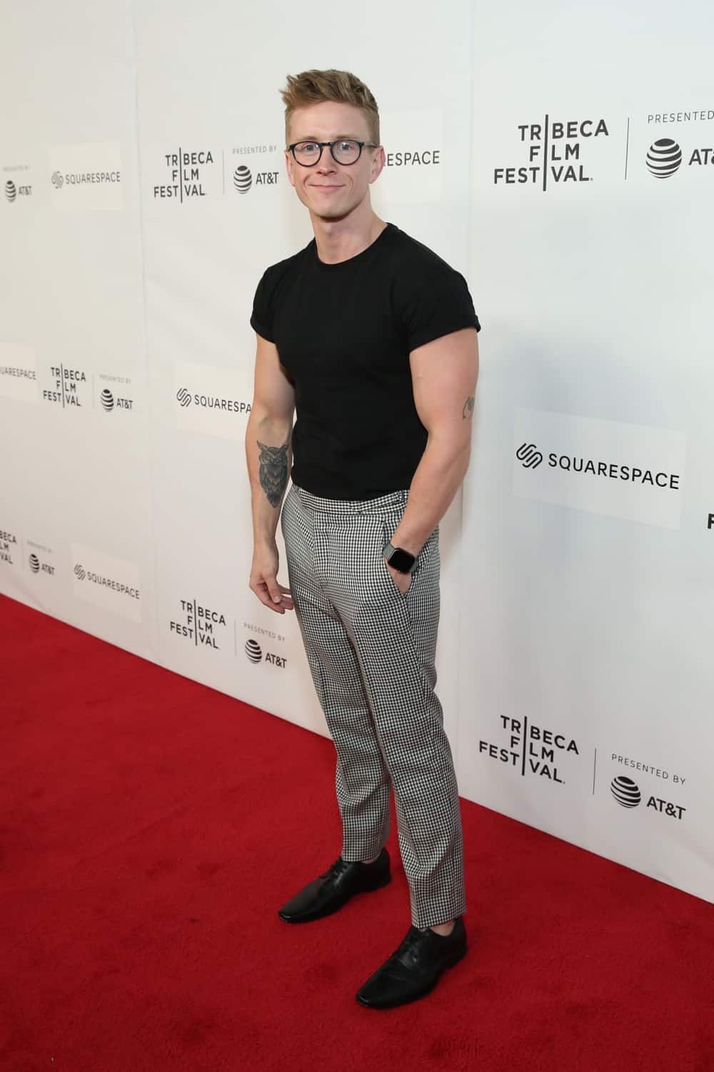 Tyler Oakley World Premiere Of 'GAY CHORUS DEEP SOUTH' Documentary, Developed And Produced By Airbnb At The 2019 Tribeca Film Festival