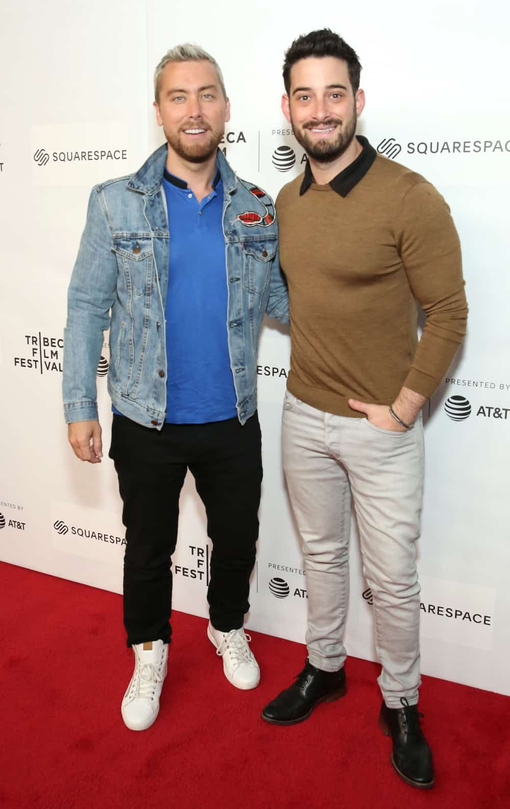 Lance Bass and Michael Turchin World Premiere Of 'GAY CHORUS DEEP SOUTH' Documentary, Developed And Produced By Airbnb At The 2019 Tribeca Film Festival