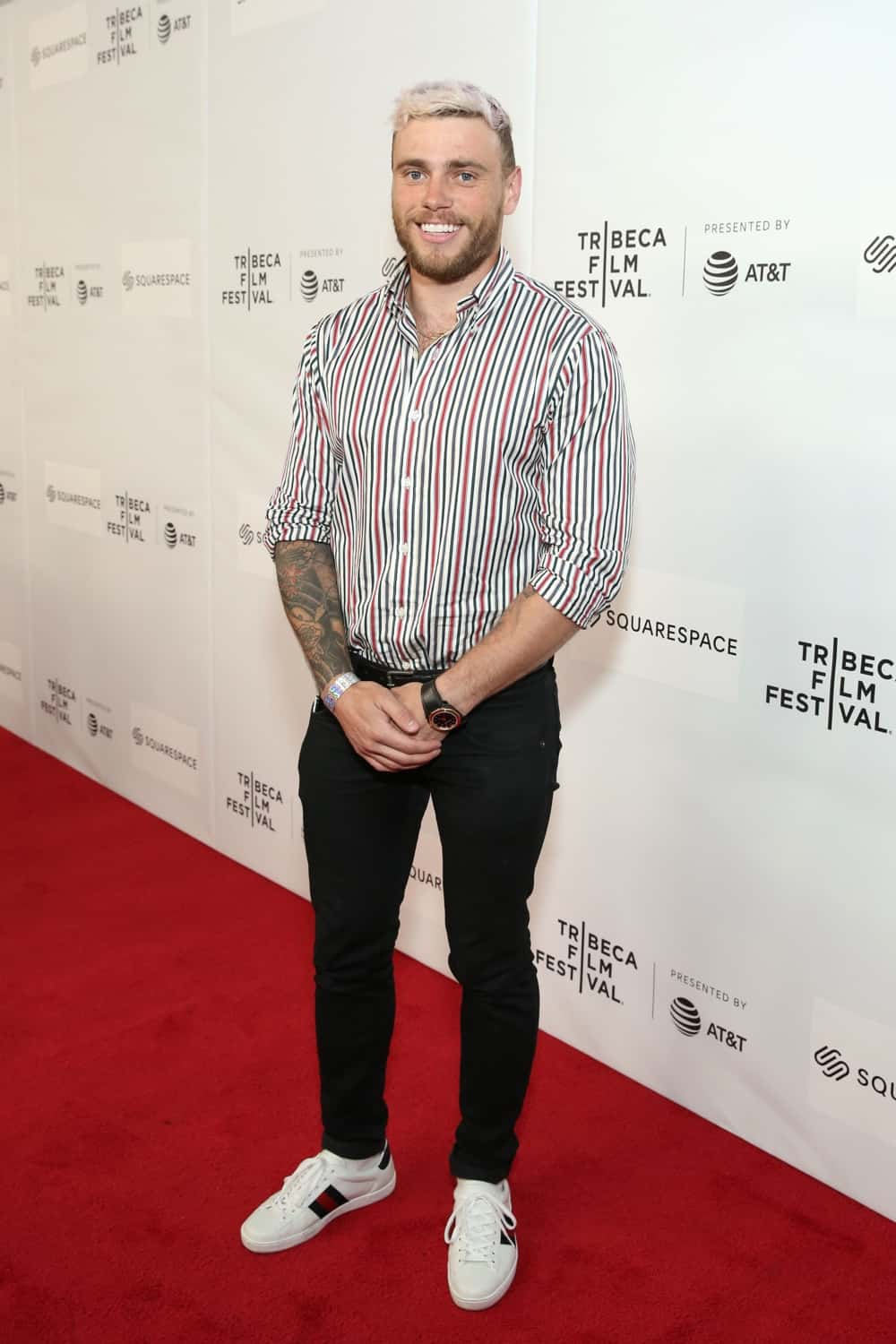 Gus Kenworthy World Premiere Of 'GAY CHORUS DEEP SOUTH' Documentary, Developed And Produced By Airbnb At The 2019 Tribeca Film Festival