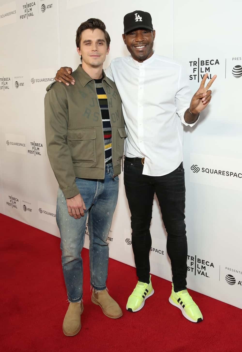 Antoni Porowski and Karamo Brown World Premiere Of 'GAY CHORUS DEEP SOUTH' Documentary, Developed And Produced By Airbnb At The 2019 Tribeca Film Festival