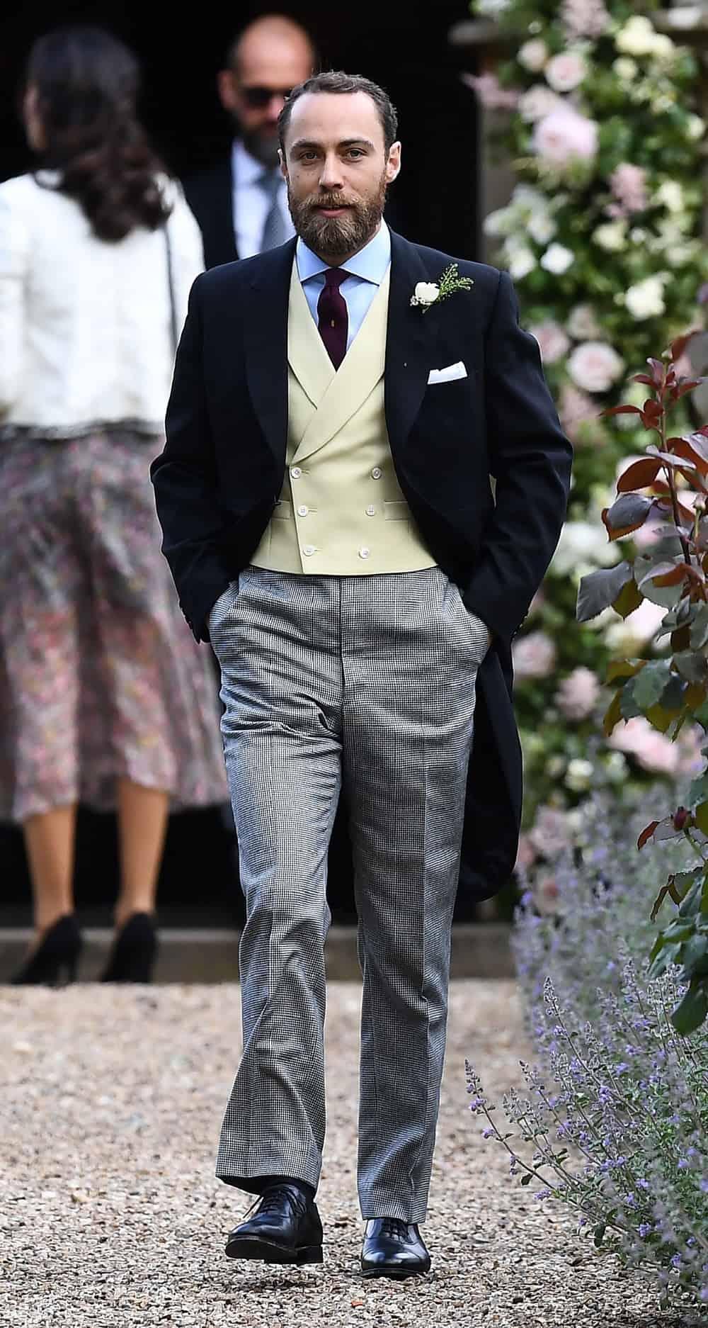 James Middleton BRITAIN-ROYALS-PEOPLE-MIDDLETON-MARRIAGE