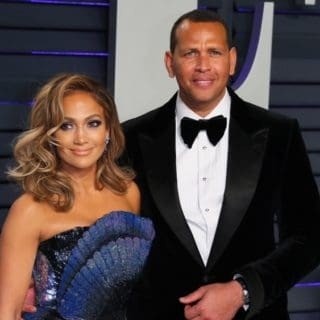 Jennifer Lopez Alex Rodriguez US-OSCARS-VANITYFAIR-PARTY
