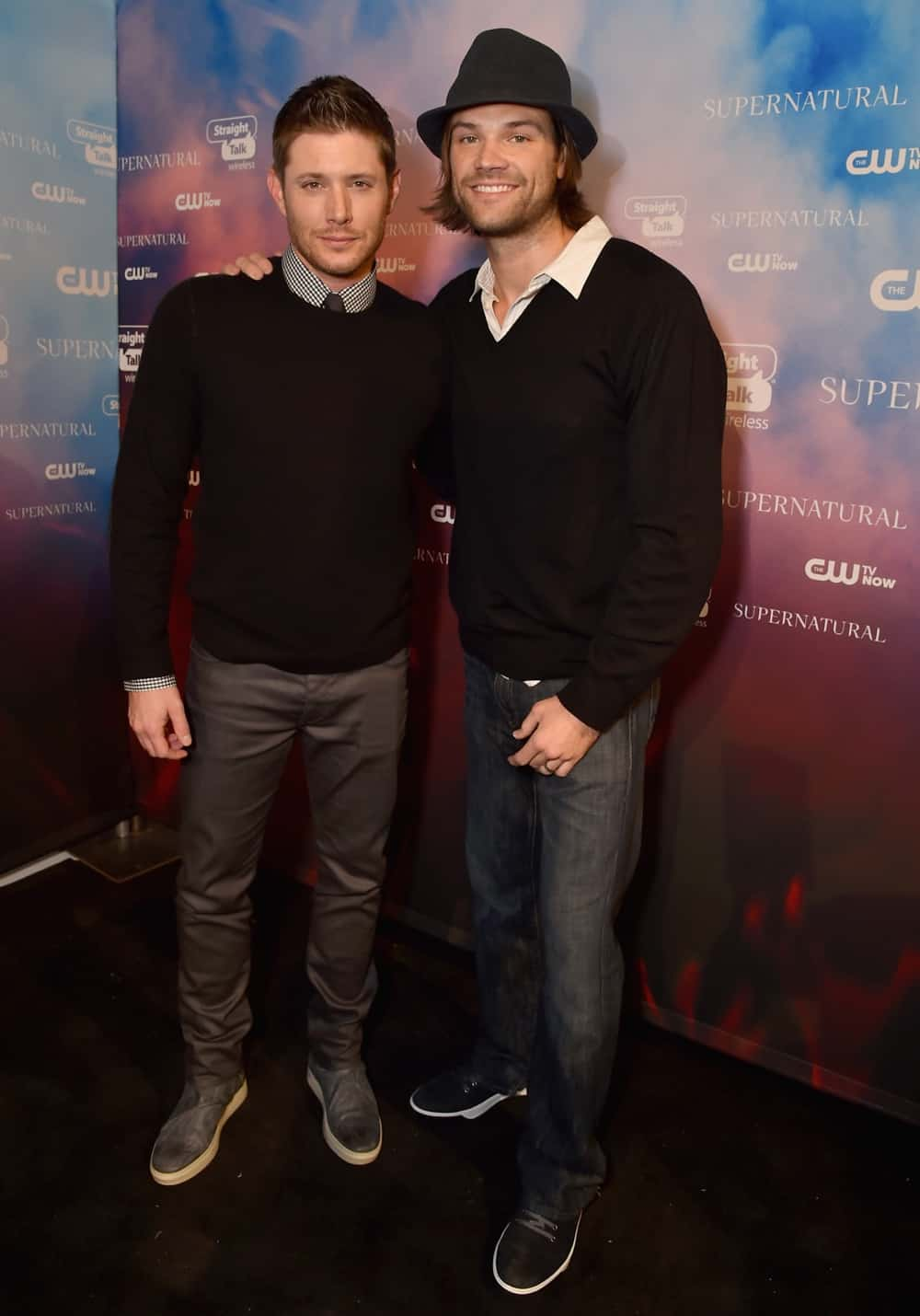 """Jensen Ackles and Jared PadaleckiCW's """"Supernatural"""" Fan Party To Celebrate The 200th Episode Of """"Supernatural"""""""