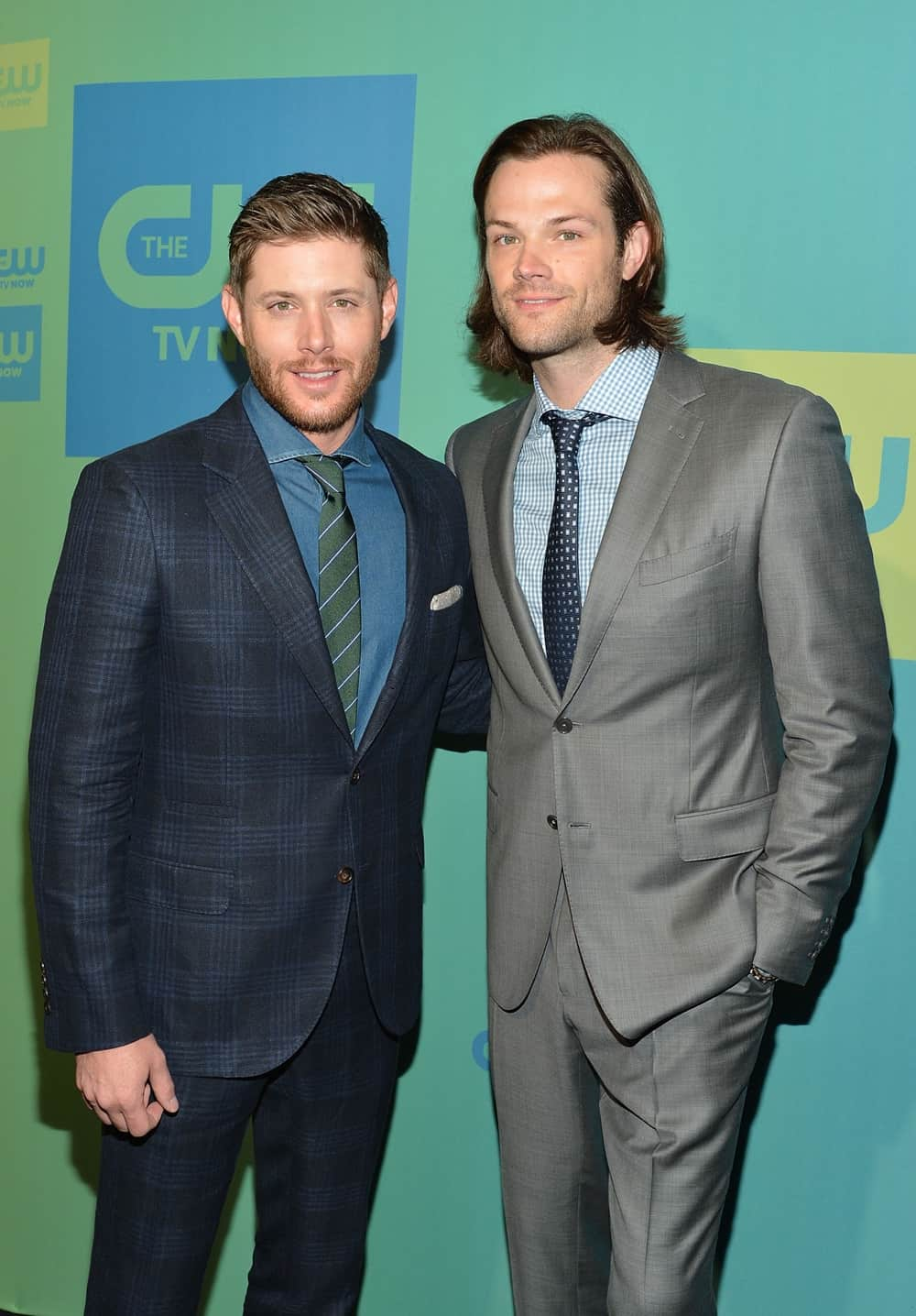 Jensen Ackles and Jared Padalecki The CW Network's New York 2014 Upfront Presentation