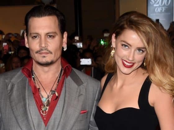 "Amber Heard and Johnny Depp 2015 Toronto International Film Festival - ""Black Mass"" Premiere - Arrivals"