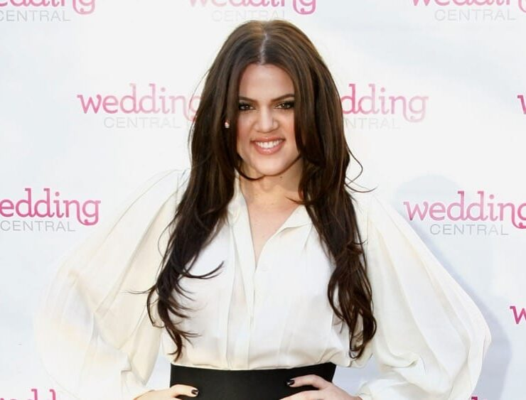 "Khloe Kardashian Wedding Central ""If The Shoe Fits"" Stunt At Madison Square Park"