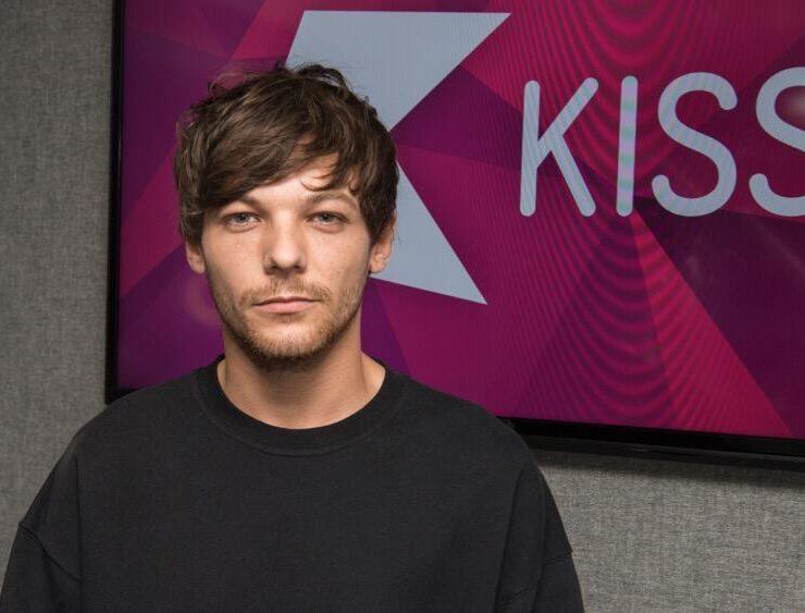 Louis Tomlinson At KISS FM