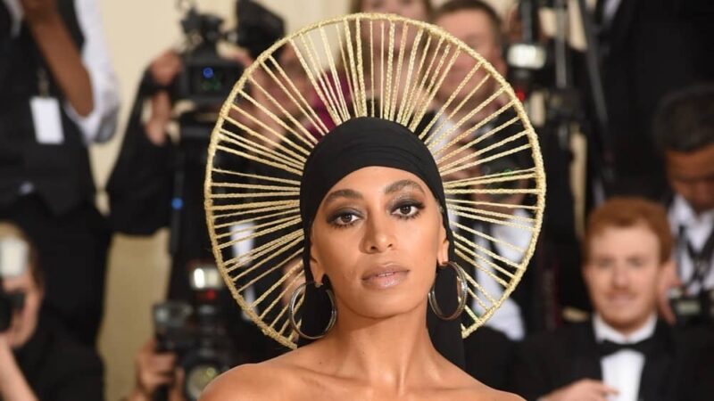 Solange Heavenly Bodies: Fashion & The Catholic Imagination Costume Institute Gala - Arrivals
