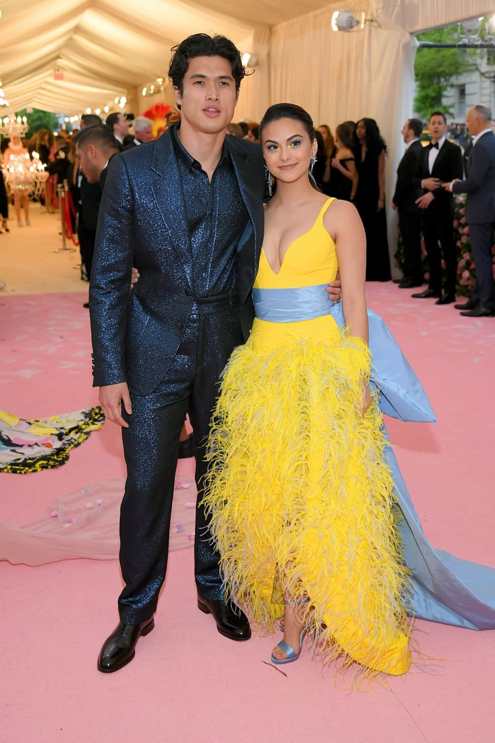 Charles Melton and Camila Mendes The 2019 Met Gala Celebrating Camp: Notes on Fashion - Arrivals