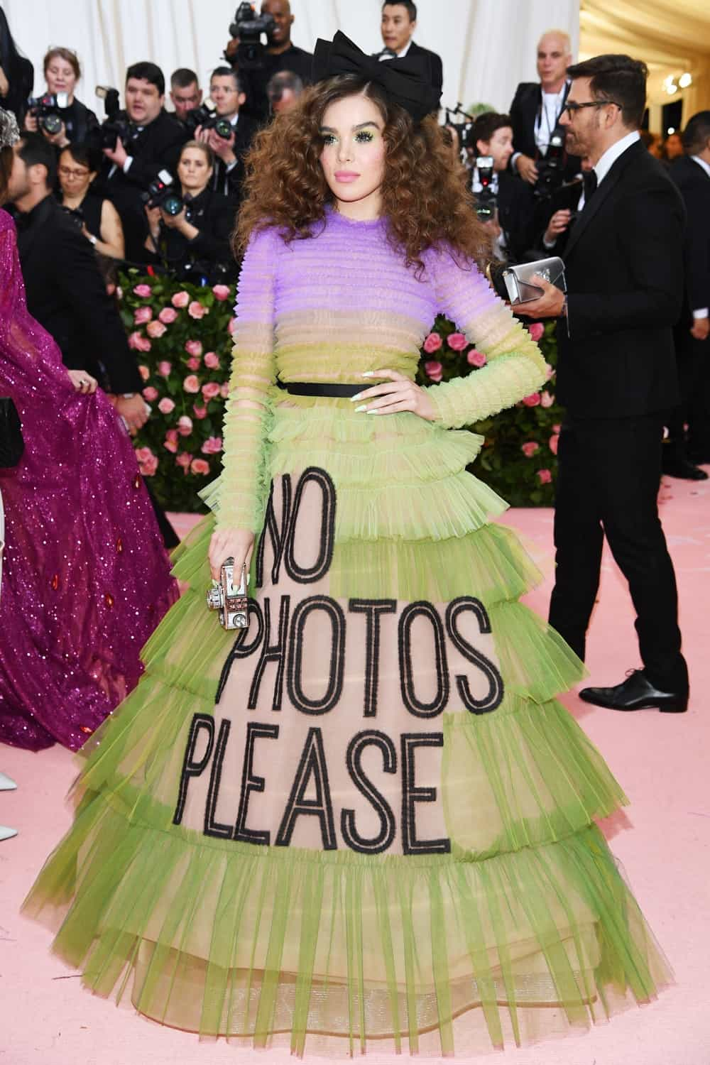 Hailee Steinfeld The 2019 Met Gala Celebrating Camp: Notes on Fashion - Arrivals