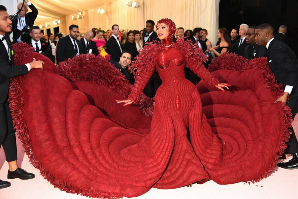 Cardi B The 2019 Met Gala Celebrating Camp: Notes on Fashion - Arrivals