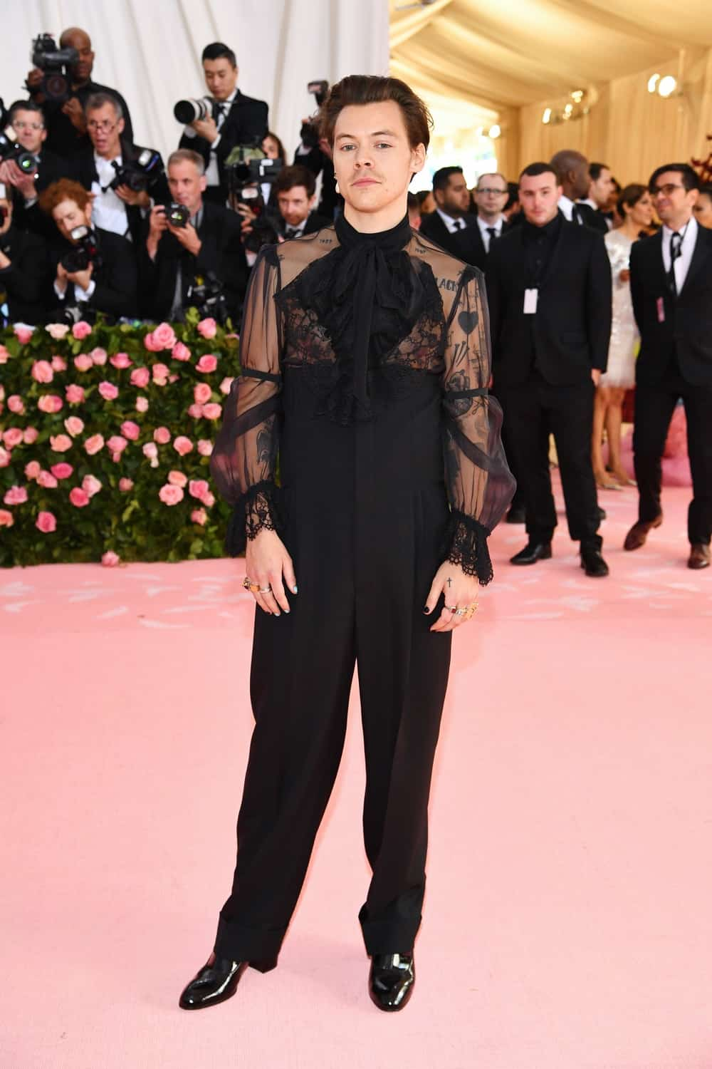 Harry Styles The 2019 Met Gala Celebrating Camp: Notes on Fashion - Arrivals