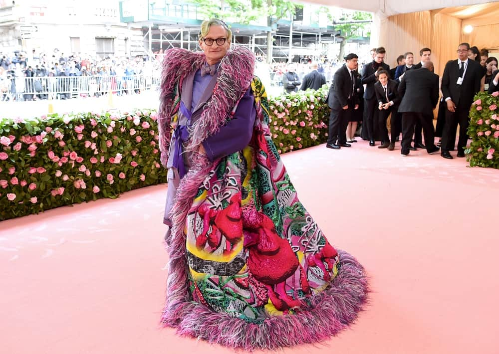 Hamish Bowles The 2019 Met Gala Celebrating Camp: Notes on Fashion - Arrivals
