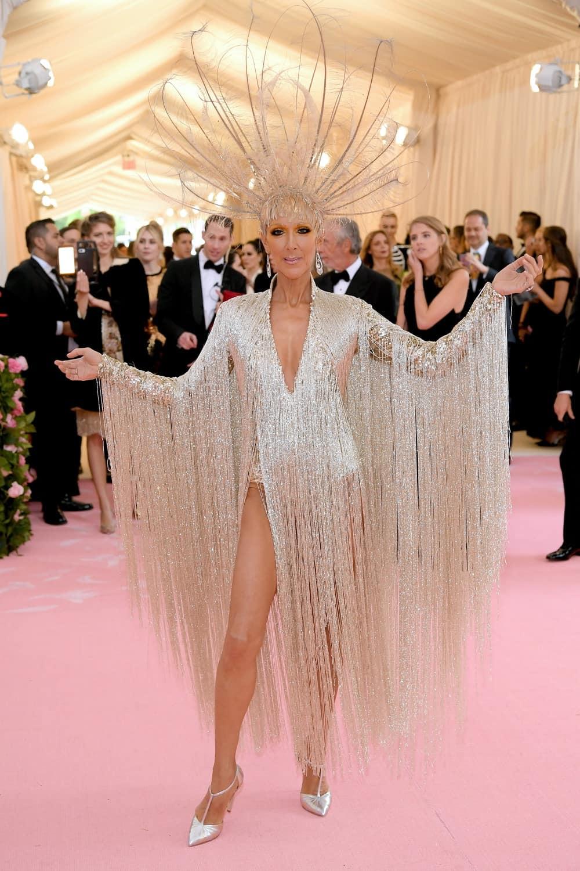 Celine Dion The 2019 Met Gala Celebrating Camp: Notes on Fashion - Arrivals