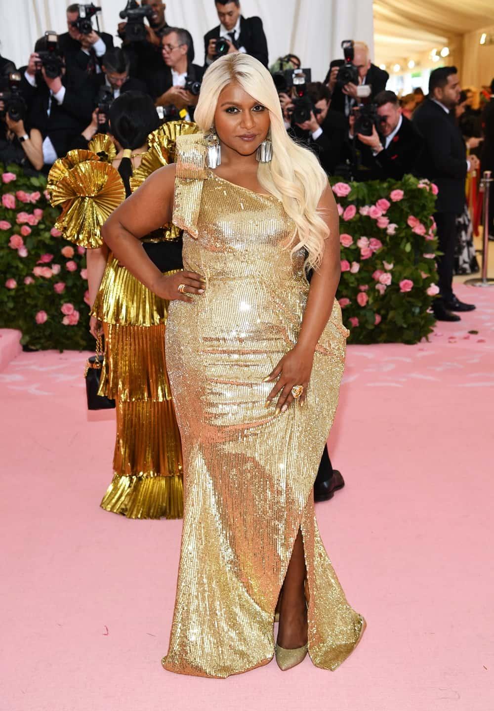 Mindy Kaling The 2019 Met Gala Celebrating Camp: Notes on Fashion - Arrivals