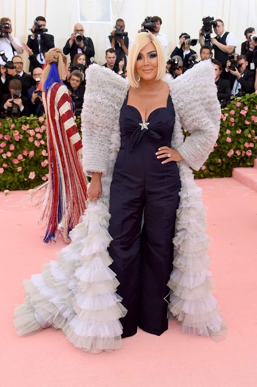 Kris Jenner The 2019 Met Gala Celebrating Camp: Notes on Fashion - Arrivals