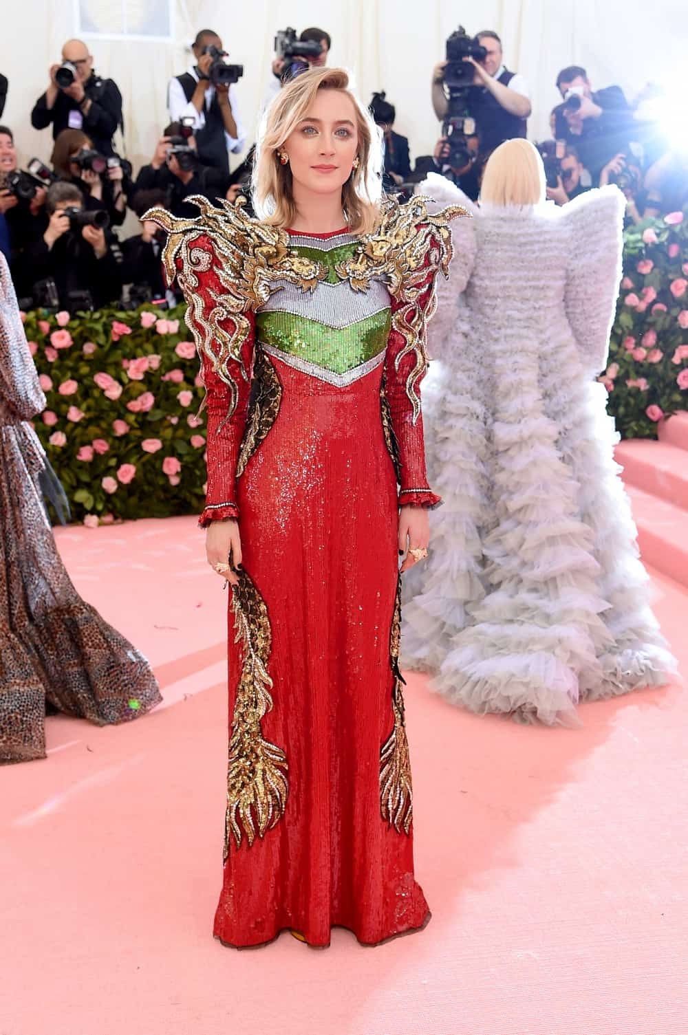 Saoirse Ronan The 2019 Met Gala Celebrating Camp: Notes on Fashion - Arrivals